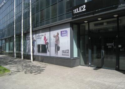 Tele2 esindus Jõe tänaval