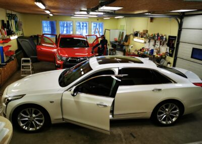 Cadillac CT6 kerekiled, kaitsekiled, kere kiletamine, kaitsekiletamine, klaaside toonimine, Kileprof OÜ
