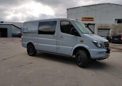 Mercedes Benz Sprinter, buss, matkabuss, matkaauto, klaasikiled, aknakiled, autoklaaside kiled, toonkiled, kaitsekiled, päikesekaitsekiled, Kileprof
