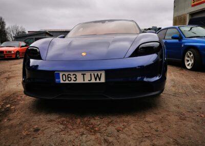 Porsche Taycan, sportauto, luksusauto, kerekiled, kaitsekiled, autokiled, autode kiletamine, autokerede kiletamine, Kileprof