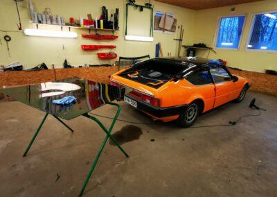 Matra Bagheera, sportauto, luksusauto, klaasikiled, aknakiled, autoklaaside kiled, kiletööd, autotööd, Kileprof