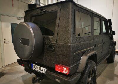 Mercedes Benz, maastur, autokile, kerekile, disainkile, dekoratiivkile, tekstuurkile, Kileprof, auto kiletööd