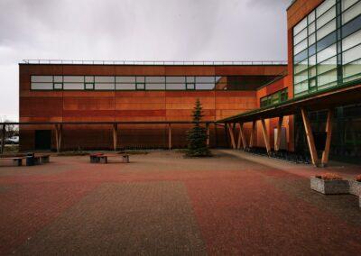 Peetri kooli spordihoone, aknakiled, päikesekaitsekiled, hoonekiled, majakiled, Kileprof